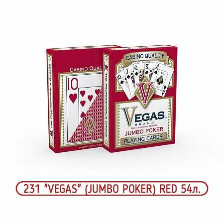 Карты Vegas Red № 231 Jambo Poker