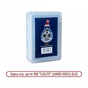 Карты № 808 Blue Jumbo Index