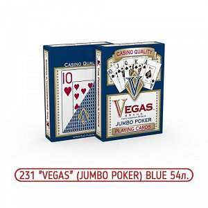 Карты Vegas Blue № 231 Jambo Poker